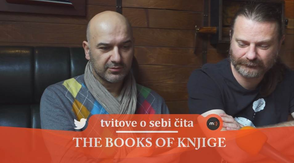 The Books of knjige, tvitovi, mondo tv