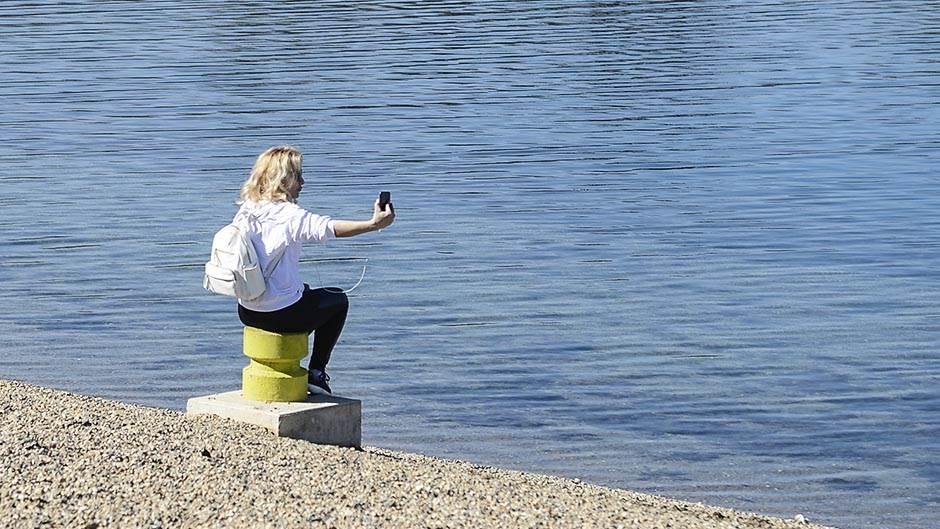ada ciganlija, selfi