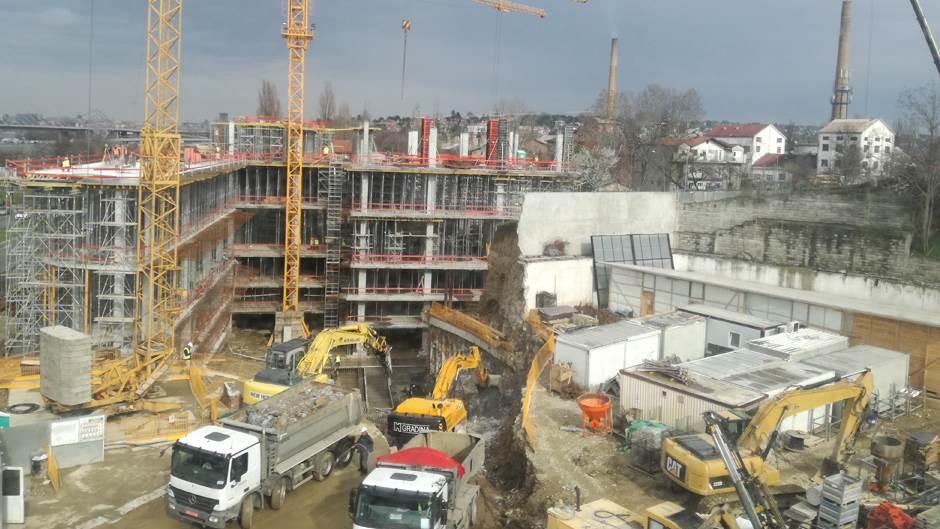 Ada mol, tržni centar kod Ade Ciganlije, tržni centar, građenje, gradnja
