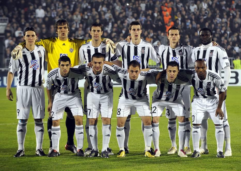 Tim Partizana iz 2010. godine