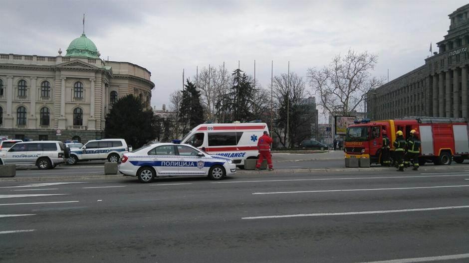 skupština srbije hitna pomoć policija vatrogasci