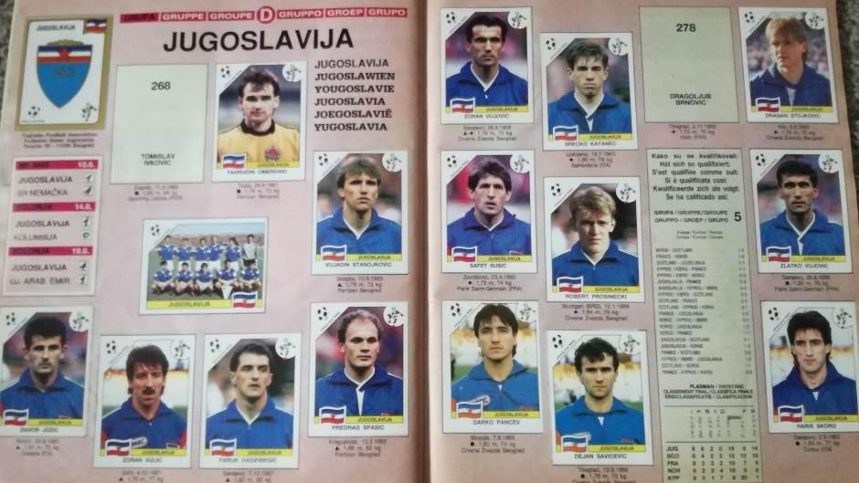 Jugoslavija, jugoslovenski tim, jugoslovenska reprezentacija, reprezentacija Jugoslavije, SFRJ