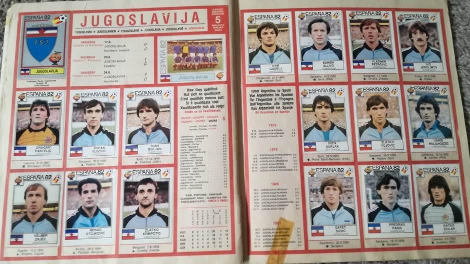 Reprezentacija Jugoslavije na Mundijalu u Španiji