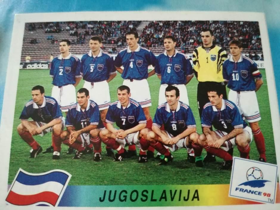 Reprezentacija Jugoslavije na Mundijalu 1998. godine