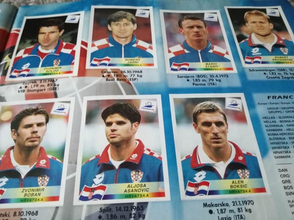 Tim Hrvatske iz 1998. godine