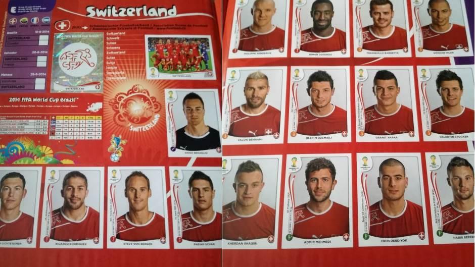 I Švajcarci kriju spisak