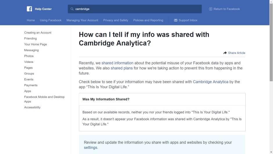 Facebook: Proverite je li vaš nalog zloupotrebljen