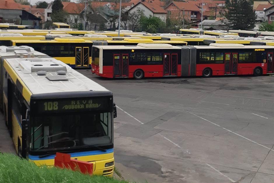 autobusi, GSP