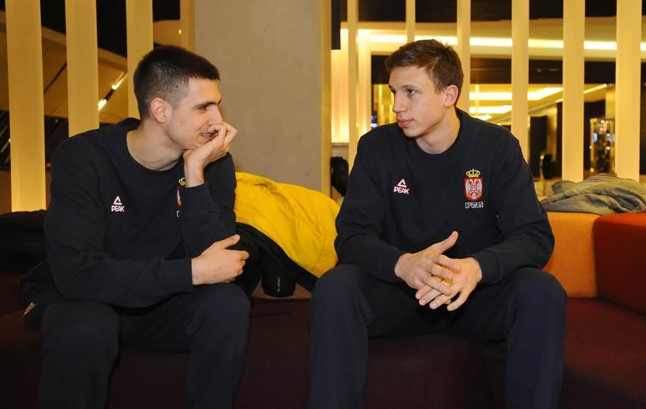 Vanja Marinković i Aleksa Radanov