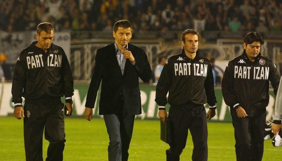 Miroslav Đukić Pandurović Stanojević Partizan