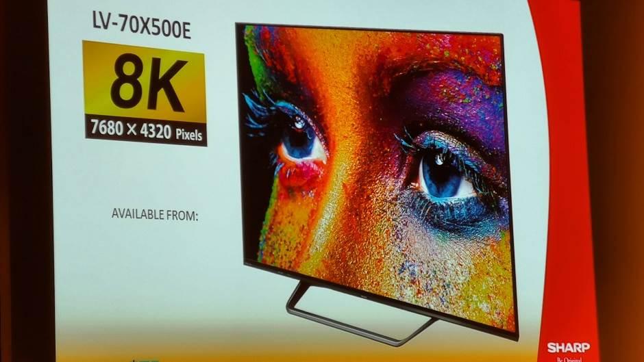 Sharp 8K TV u Srbiji cena, prodaja, kupovina