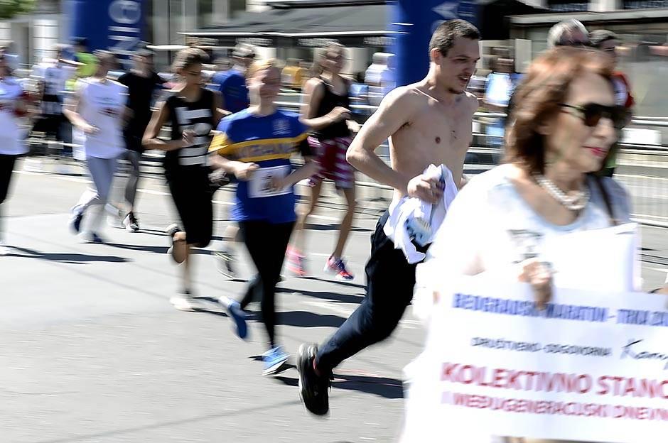 Prosidba na Beogradskom maratonu