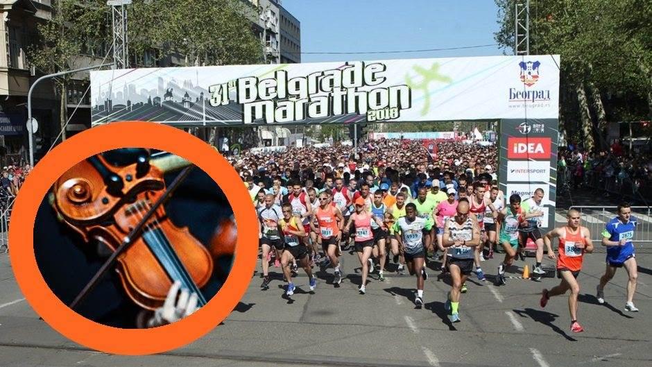 GENIJALNO: Svirali maratoncima! (VIDEO)