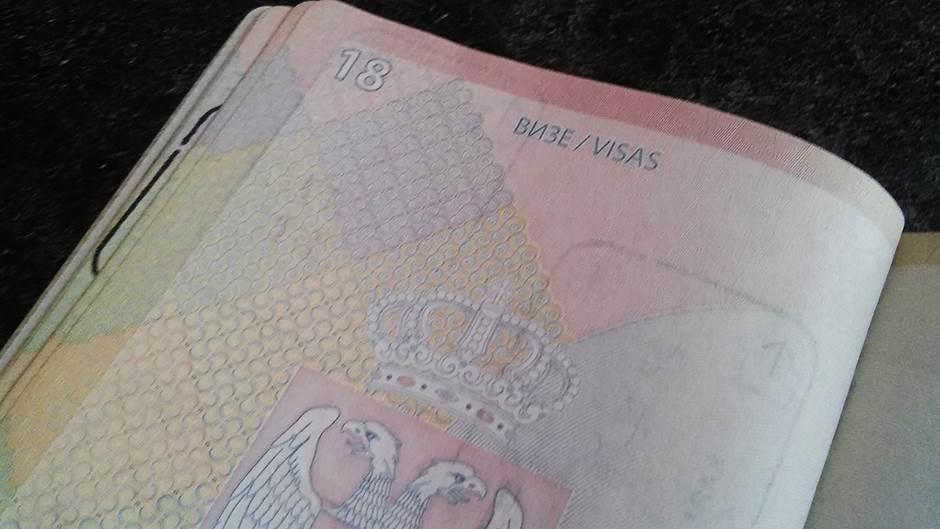 viza, vize, pasoš, putovanje