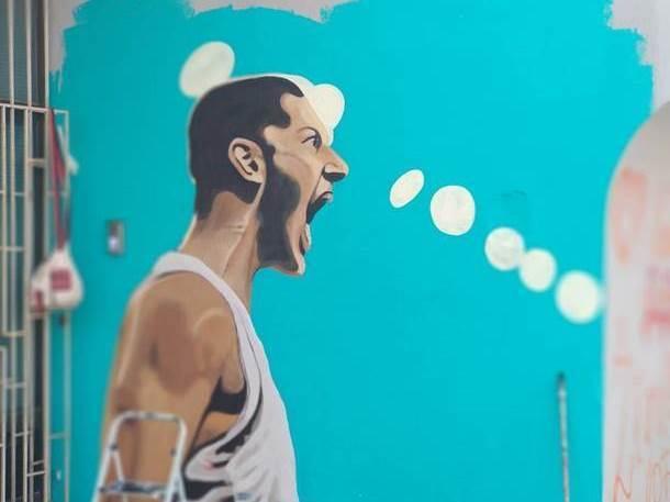 Nikola Ivanović, grafit