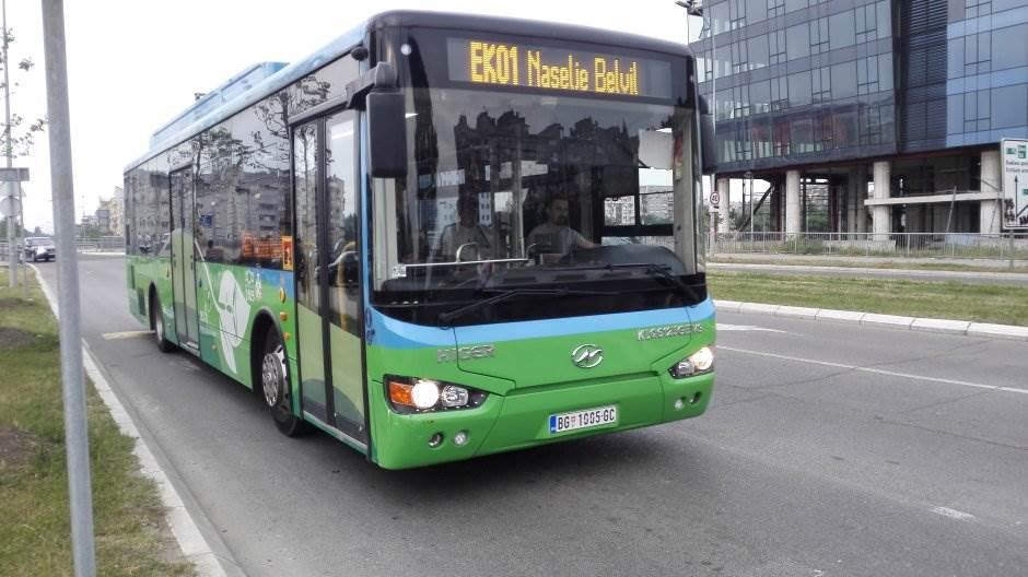 električni autobus, eko bus, eko1, gsp, beograd, autobus