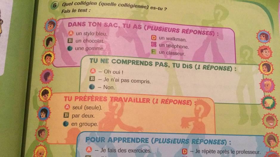 jezik, strani jezik, knjiga, francuski, učenje