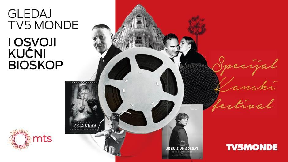 Gledajte TV5 Monde i osvojite kućni bioskop