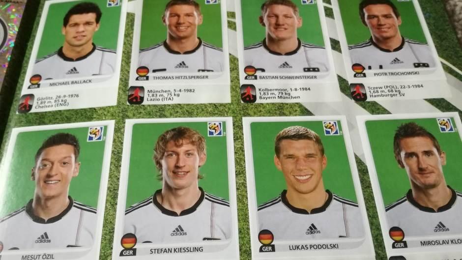 Nemačka u Južnoj Africi, Nemačka, reprezentacija Nemačke, Švajnštajger, Ozil