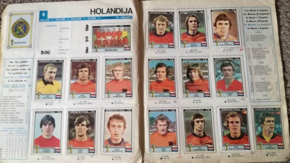 Holandija, reprezentacija Holandije, holandska reprezentacija, mundijal u Argentini 1978.