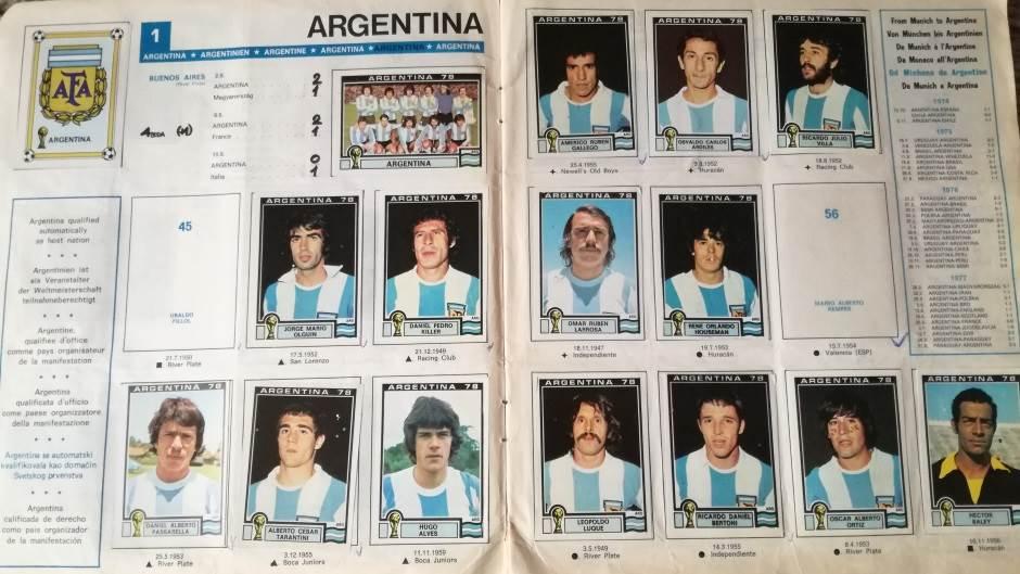 Argentina, argentinska reprezentacija, reprezentacije argentine, mundijal 1978