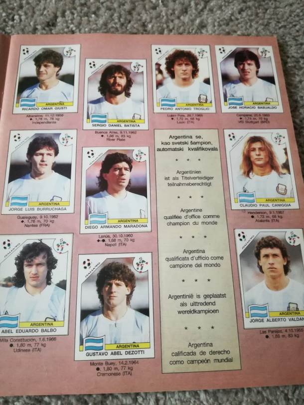 argentinska reprezentacija, reprezentacija Argentine, maradona, kaniđa