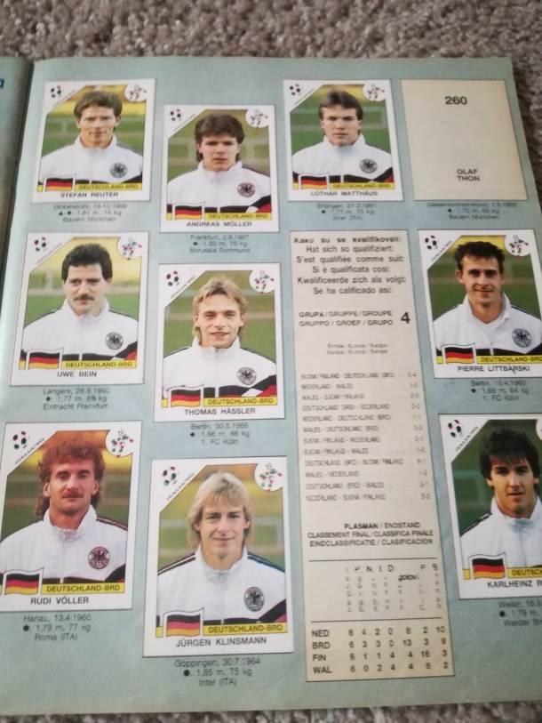 Nemačka, nemačka reprezentacija, reprezentacija Nemačke Mundijal u Italiji
