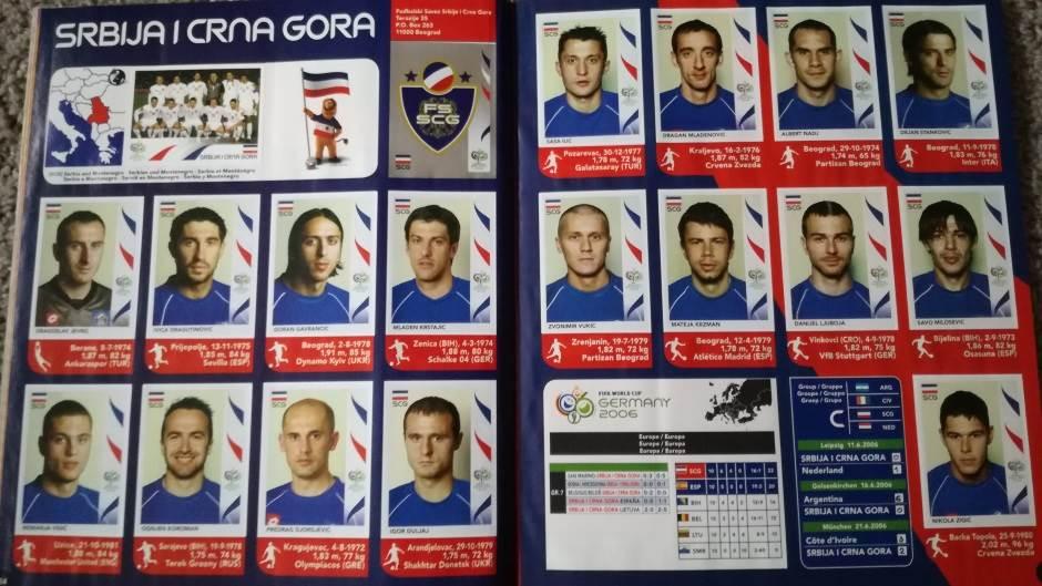mundijal, mundijal 2006, Srbija i Crna Gora, SCG, reprezentacija SCG