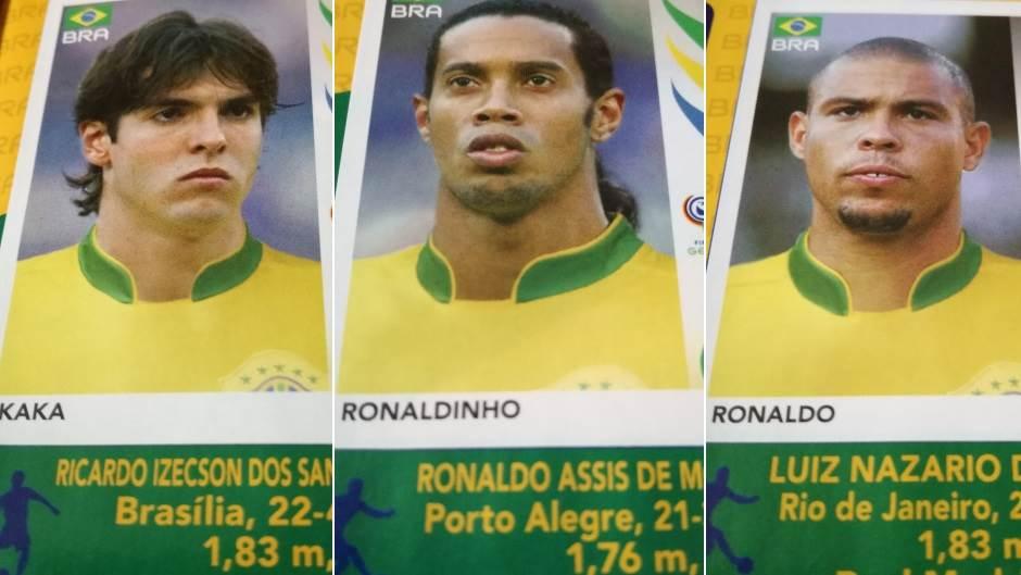 Brazil, brazilski fudbaleri, brazilska reprezentacija, Mundijal 2006, Kaka, Ronaldinjo, Ronaldo