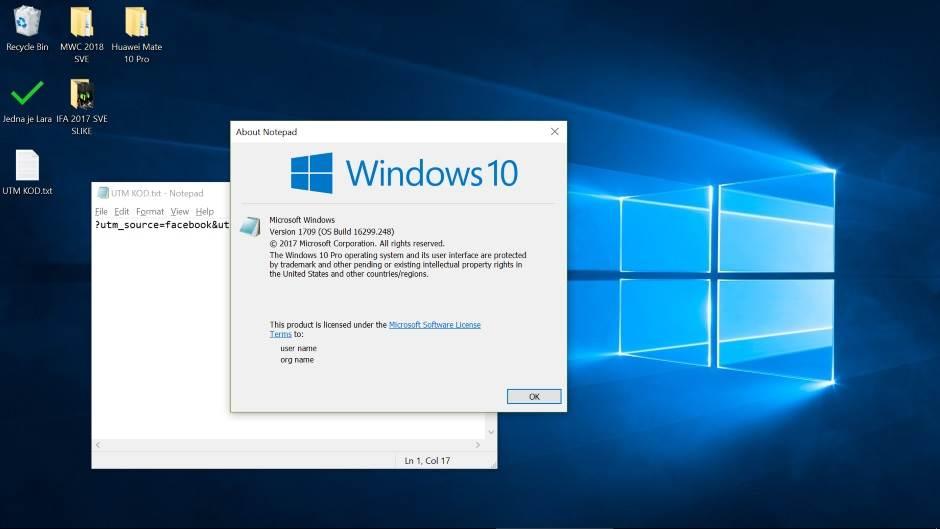 Notepad greška ispravljena posle 33 godine Microsoft