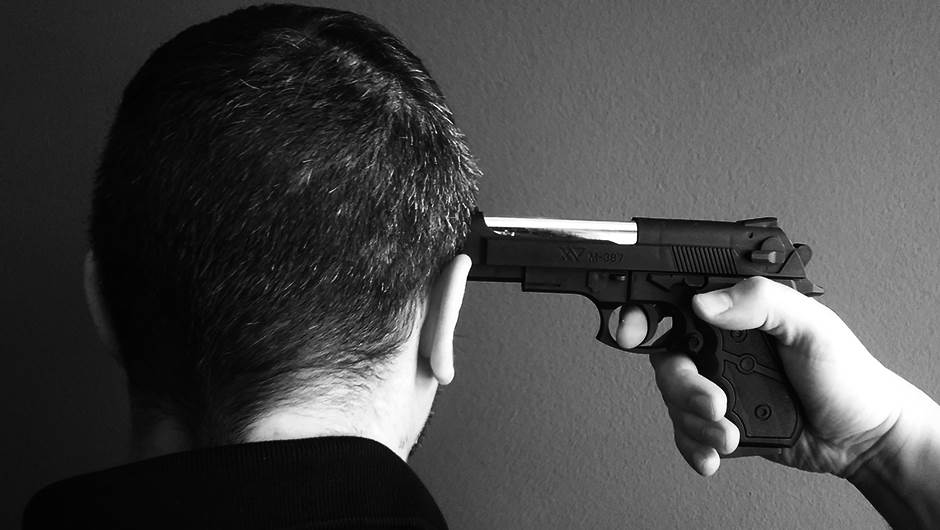 samoubistvo, pištolj