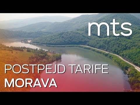 Nove mts postpejd tarife - Morava
