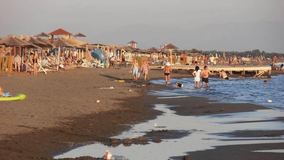 Ulcinj plaža plaza more