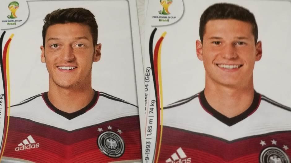 Mesut Ozil, Julijan Draksler, nemačka reprezentacija, nemački fudbaleri, mundijal