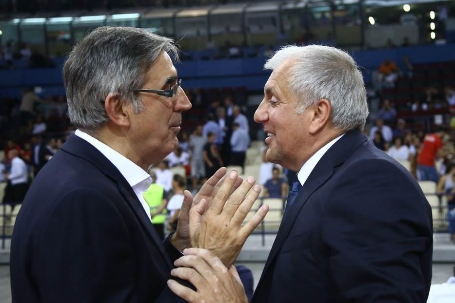 Željko Obradović i Đordi Bertomeu.