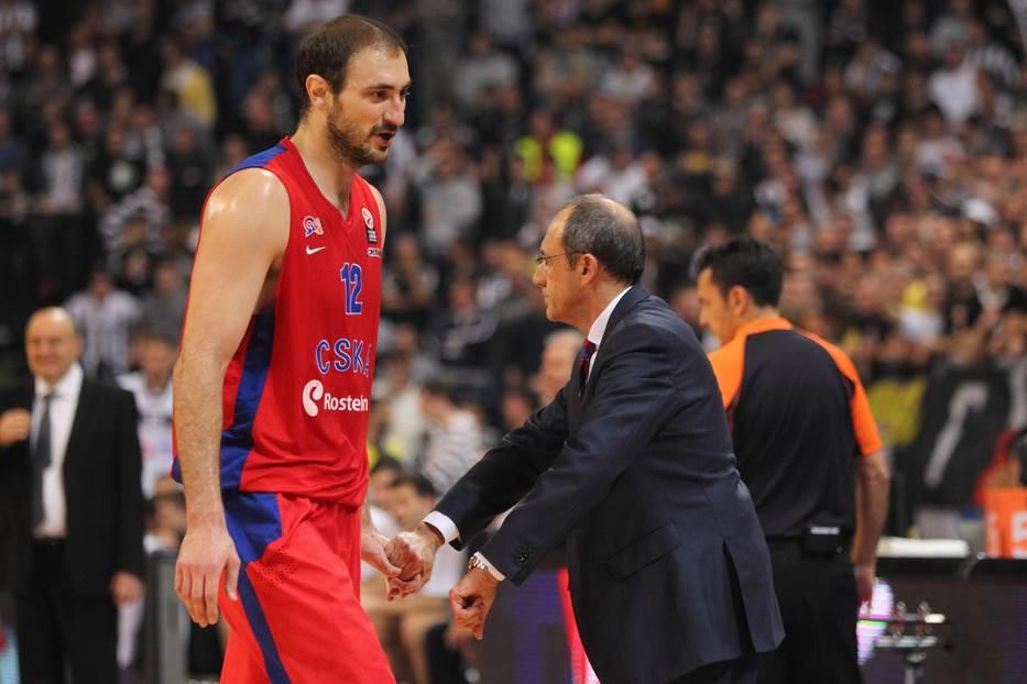 Nenad Krstić Etore Mesina CSKA