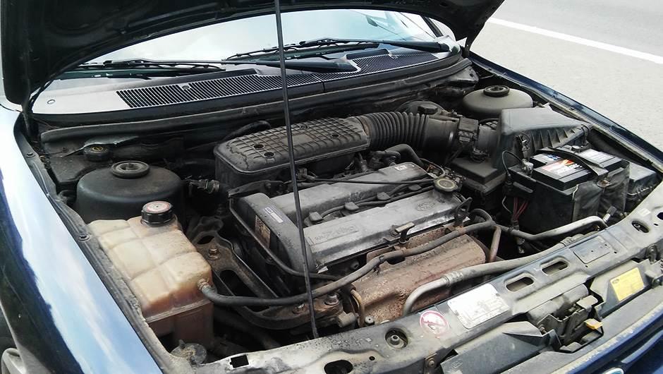 motor, automobil, kvar, hauba