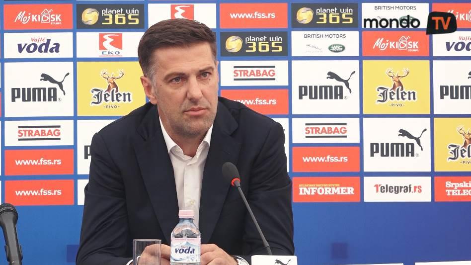 Mladen Krstajić, fudbal, reprezentacija, Srbija, mondo tv