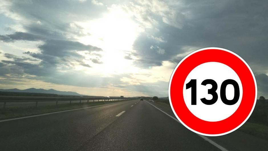 autoput, ograničenje brzine