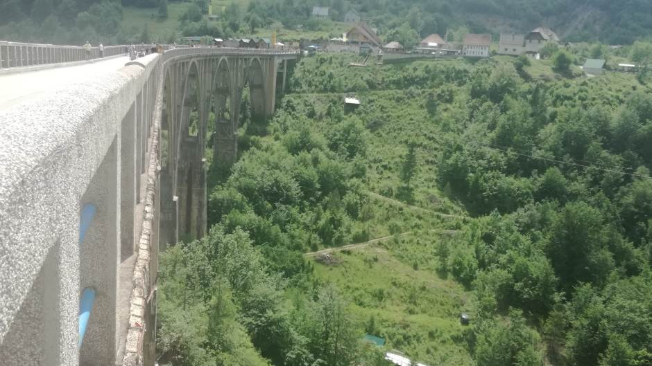 Tara, kanjon Tare, reka Tara, most, most na Tari