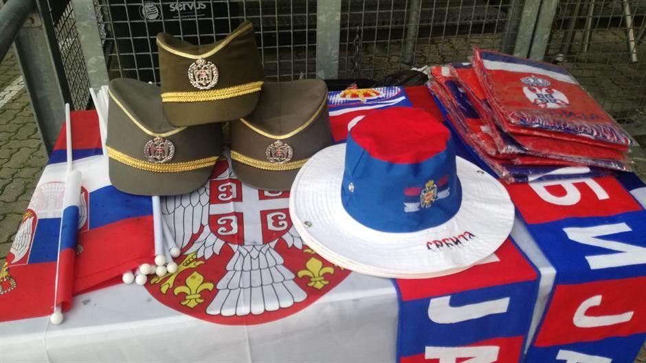 Srbija - Čile, orlovi, srbija, zastava srbije