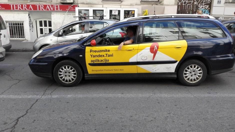 yandex taxi, taksi