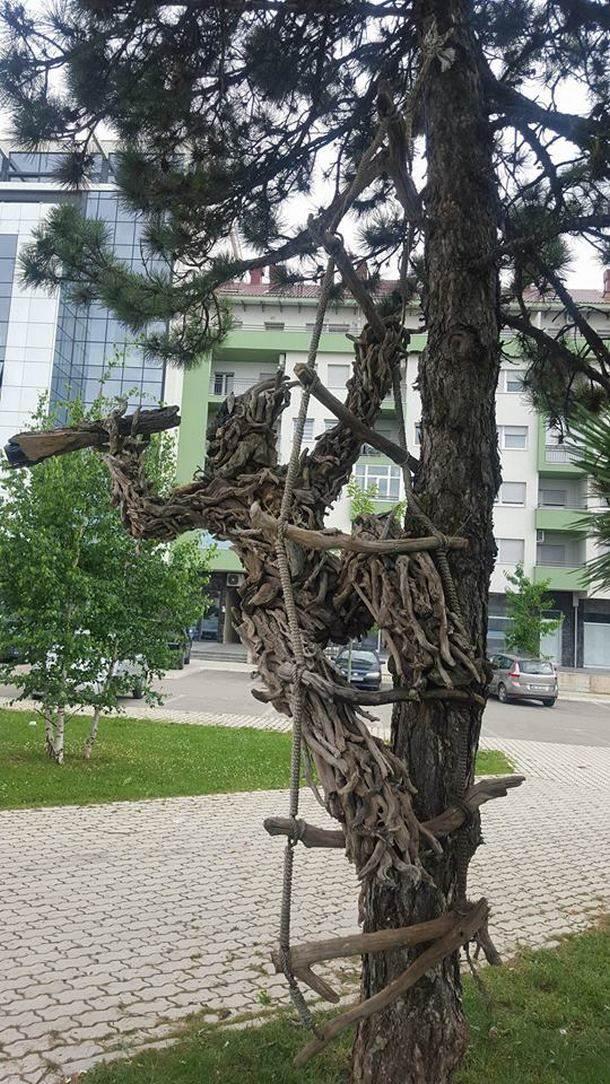 Drvostvori stigli u Nikšić (FOTO)