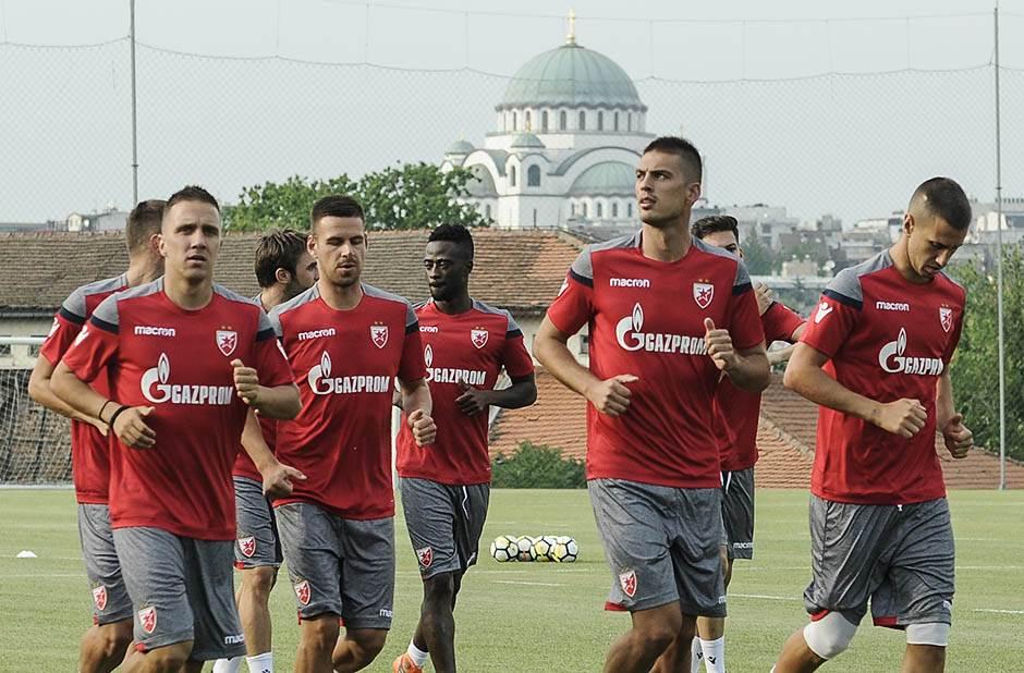 fk crvena zvezda trening