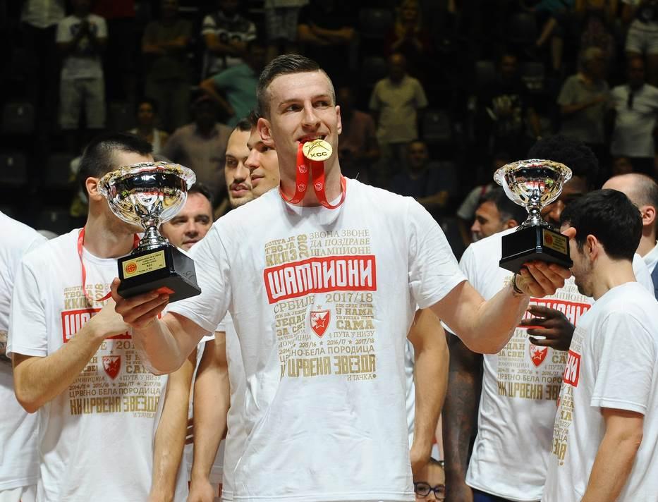 MVP Alen Omić: Hvala Zvezdi, ostao bih ovde