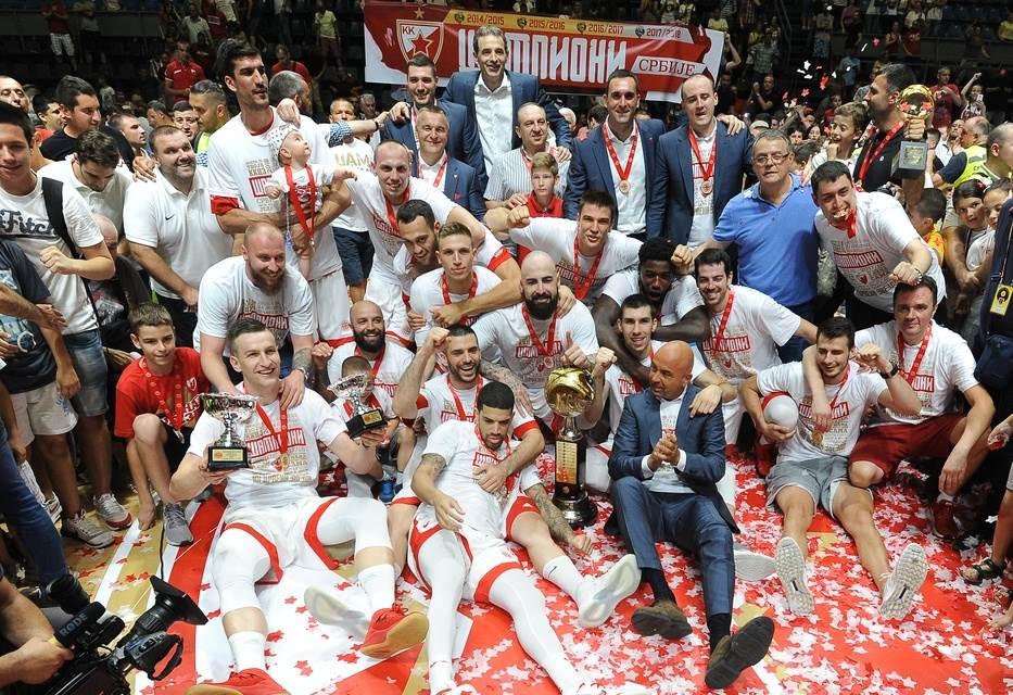 KK Crvena zvezda šampion, KK Crvena zvezda titula