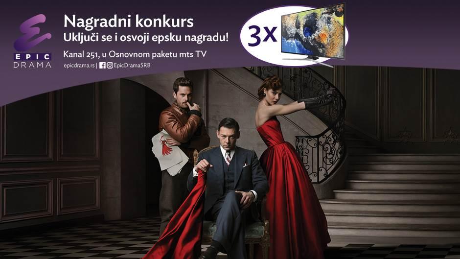 Gledajte Epik Drama kanal i osvojite Samsung TV