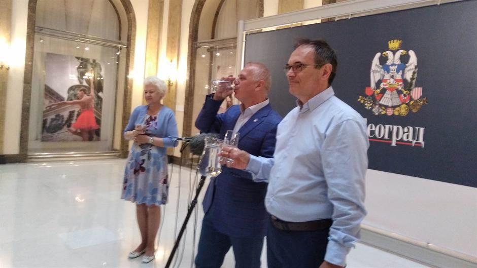 Vesić: Evo šta je bio cilj lažne vesti o vodi...