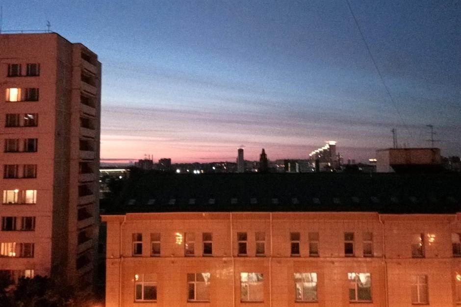 Moskva, bela noć