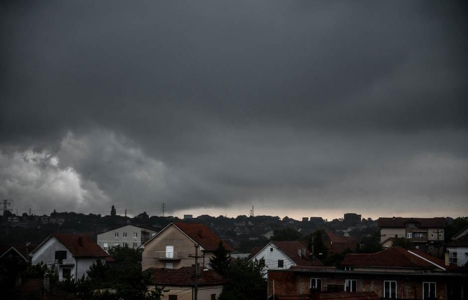 Srbija: Provala oblaka